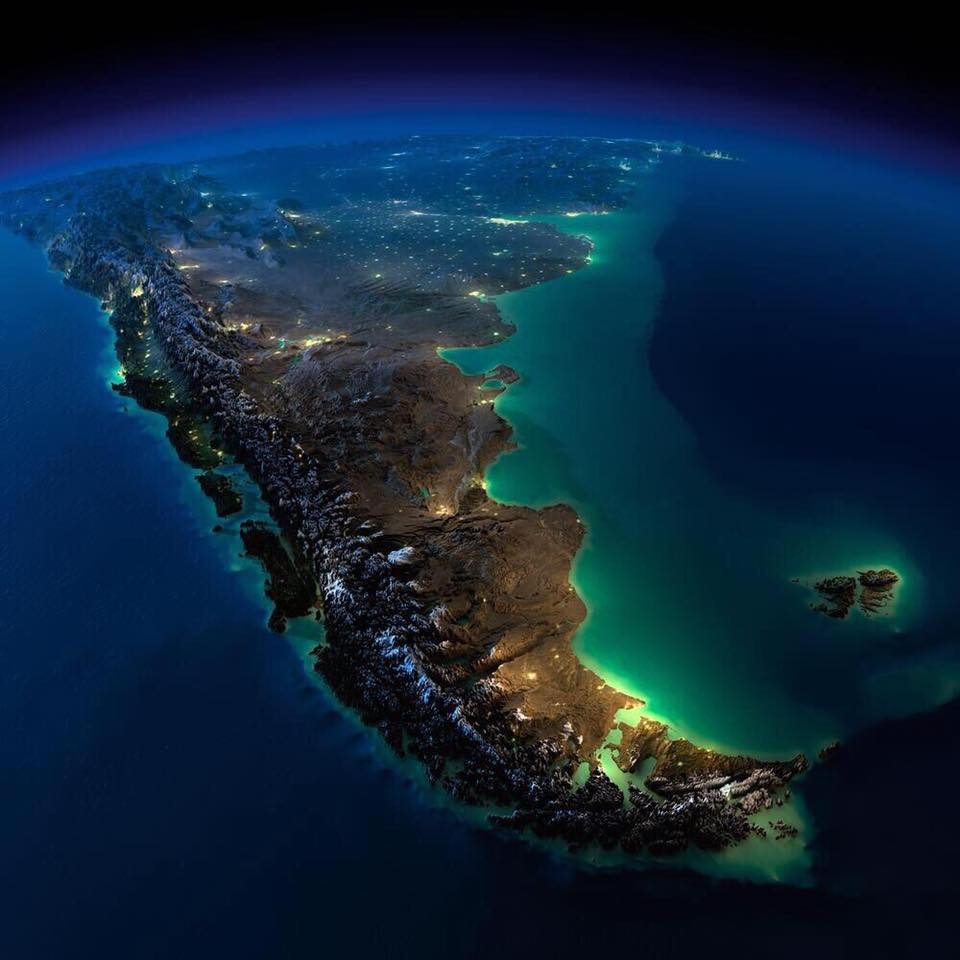Name:  Stunning picture of South America taken from the International Space Station.jpg Views: 10 Size:  67.7 KB
