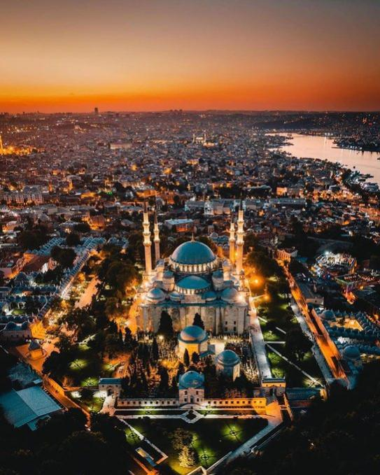 Name:  The beautiful skyline of Istanbul, Turkey.jpg