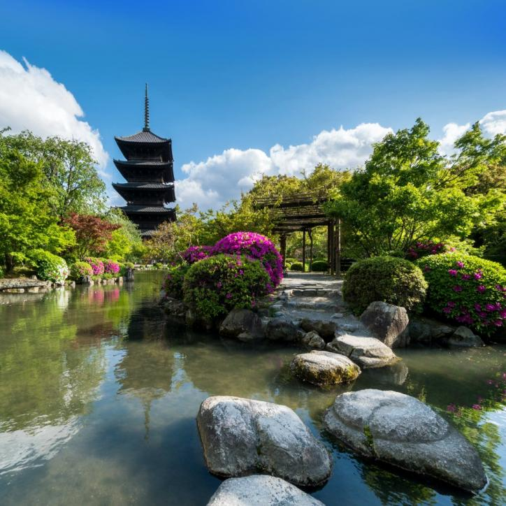 Name:  Japanese garden and countryside in spring Japan.jpg