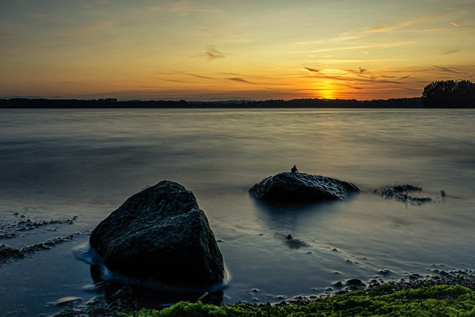 Name:  Rutland Water tonight.jpg